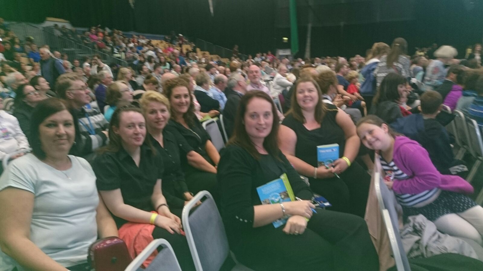 Some of our branch members enjoying the high standard of music in some of the many competitions at the fleadh.