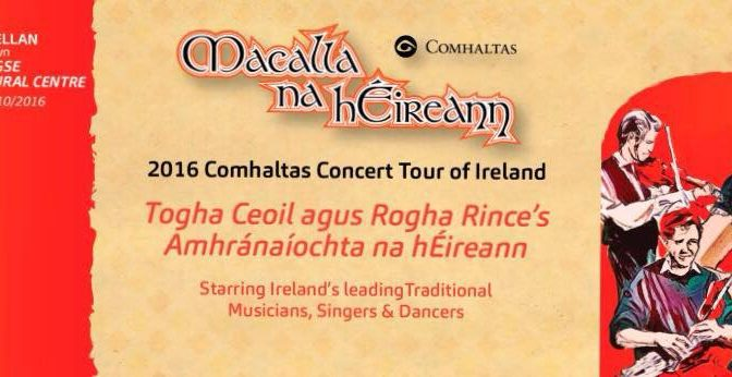 Comhaltas Concert Tour of Ireland is Visiting Castlewellan